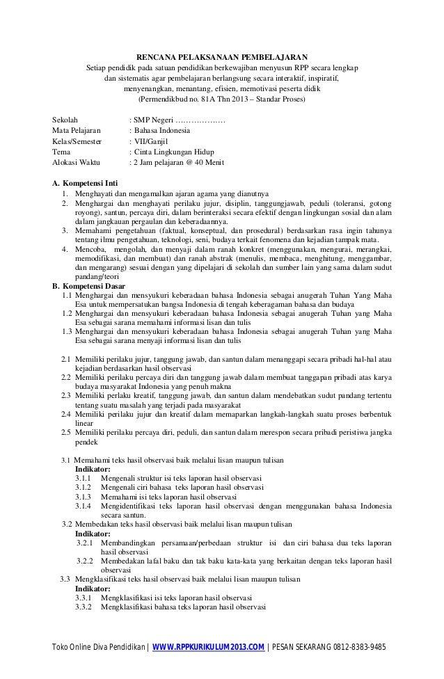 Toko Online Diva Pendidikan | WWW.RPPKURIKULUM2013.COM | PESAN SEKARANG 0812-8383-9485 RENCANA PELAKSANAAN PEMBELAJARAN Se...