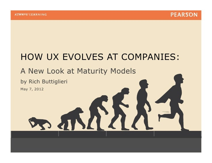 HOW UX EVOLVES AT COMPANIES:A New Look at Maturity Modelsby Rich ButtiglieriMay 7, 2012