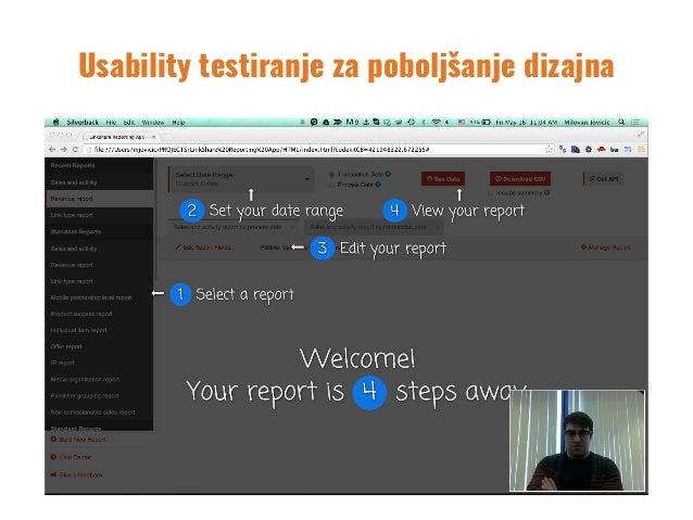 Usability testiranje za poboljšanje dizajna