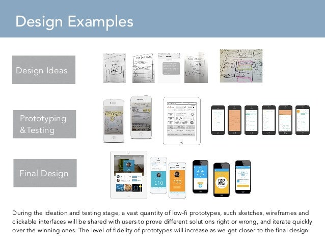 Ux Design Process  Sample Proposal