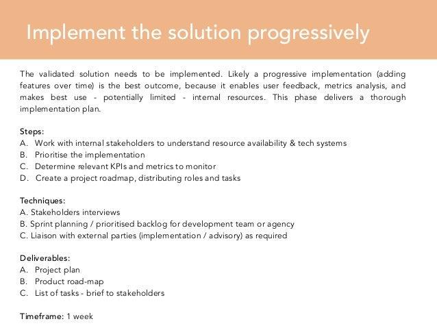 UX Design Process   Sample Proposal