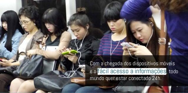 No mundo digital ondeos consumidorescada vez maiscompartilham suasexperiências deconsumo, a influênciacorre à velocidade d...