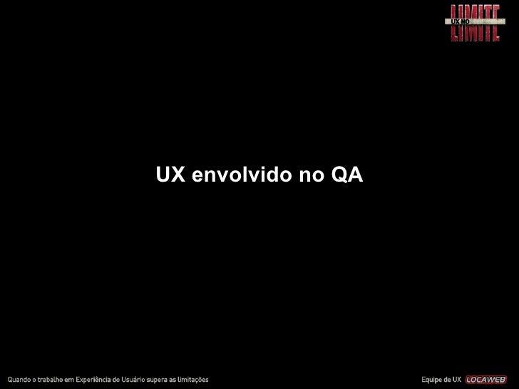 UX em agências e consultorias