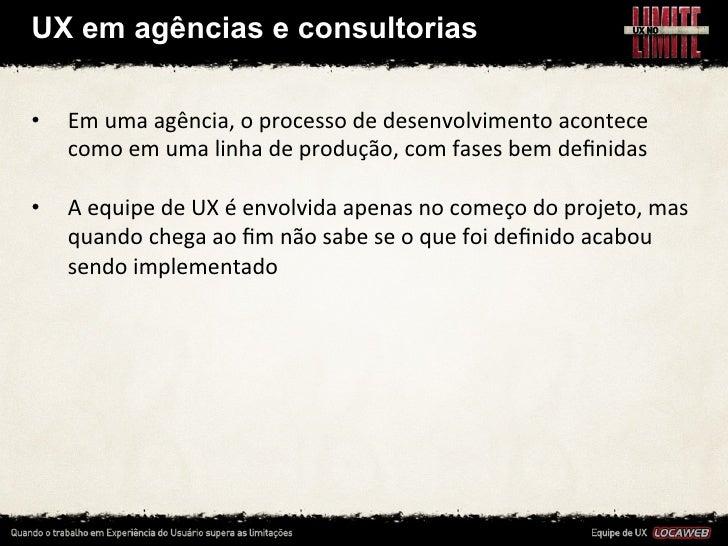 UX na Locaweb