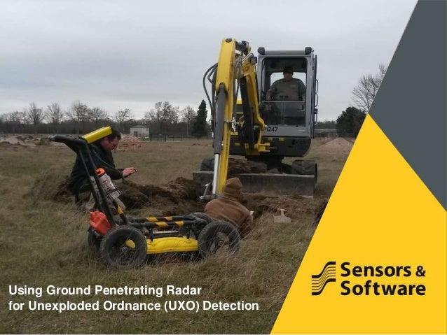 Ground Penetrating Radar (GPR) | Military | UXO