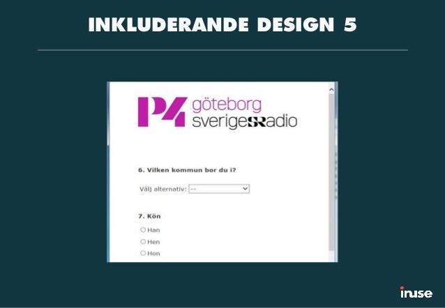 INKLUDERANDE DESIGN 5
