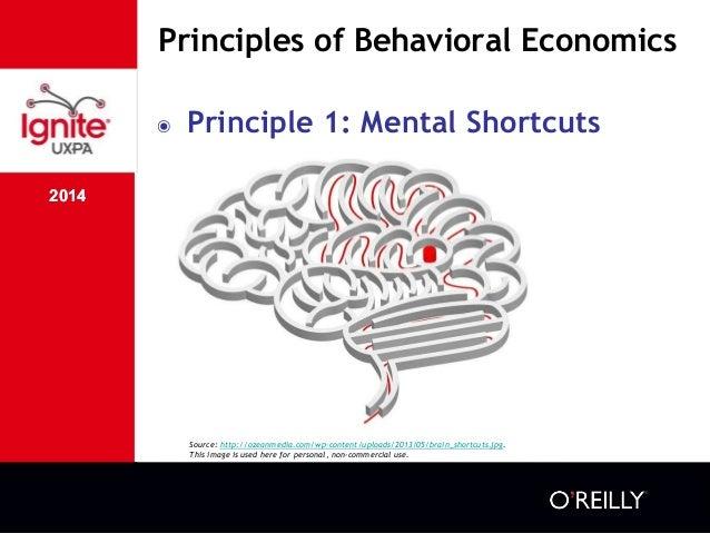 2014 Principles of Behavioral Economics 2014 ๏ Principle 1: Mental Shortcuts Source: http://ozeanmedia.com/wp-content/uplo...