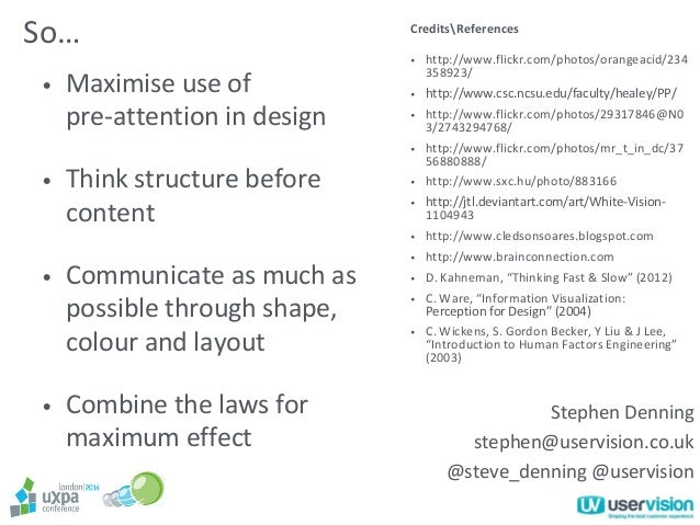 Build Trust with Pre-Attention (Stephen Denning)