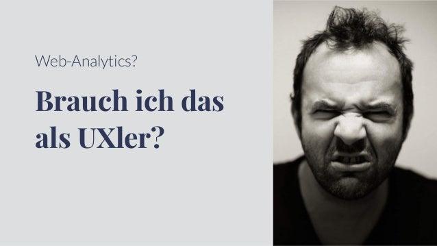 Web-Analytics für UXler Slide 3