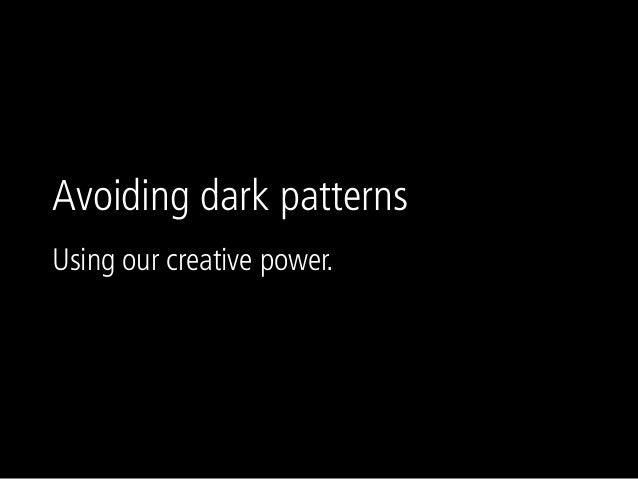 Ux salon  dark patterns