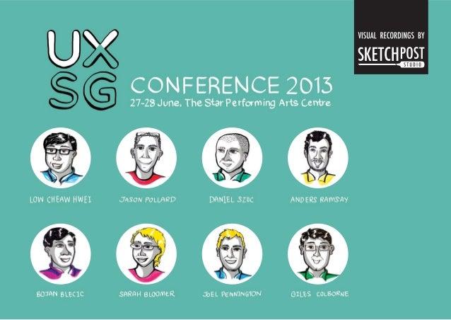 UXSG Conference Singapore 2013
