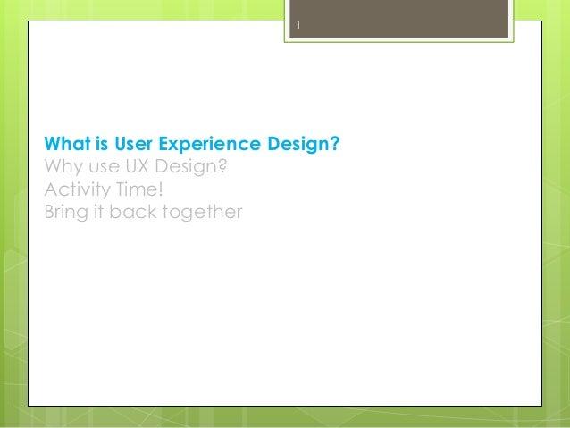 A Workshop On Ux Design And Storyboarding
