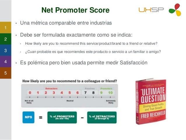 1 2 3 4 5 Net Promoter Score