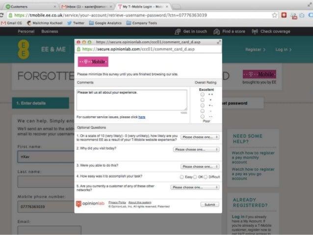 1 2 3 4 5 Encuestas breves - On Site