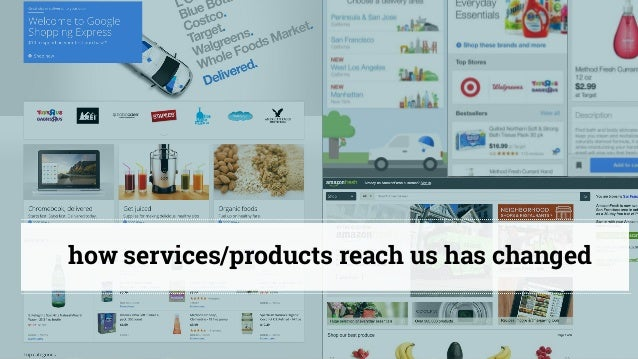 @cathycracks how services/products reach us has changed