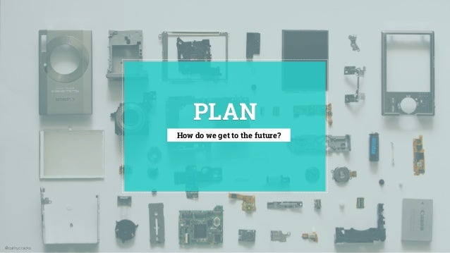@cathycracks PLAN How do we get to the future?
