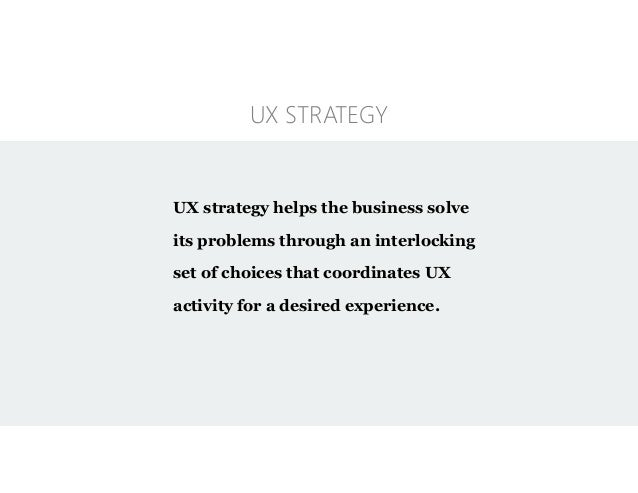 Creating a core strategy with the ux strategy blueprint 24 malvernweather Gallery