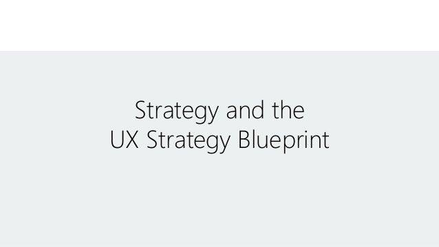 Ux strategy blueprint malvernweather Image collections