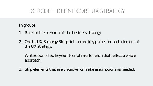 Ux strategy blueprint 42 malvernweather Image collections