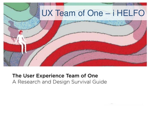 UX Team of One – i HELFO