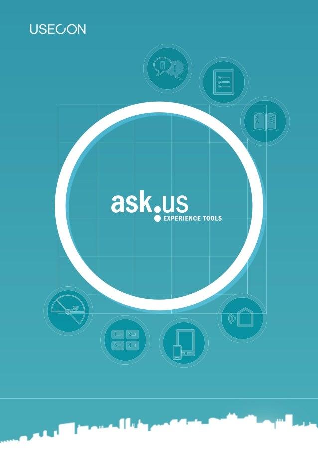 www.experiencetools.com Ein Service von USECON. 1? !