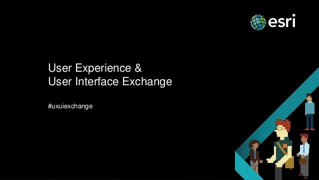 User Experience & User Interface Exchange #uxuiexchange