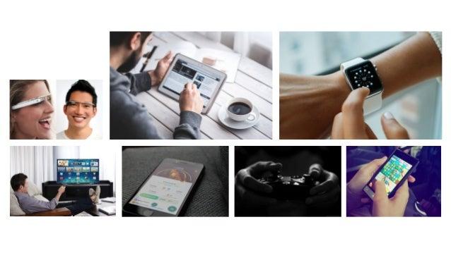 25% das pessoas estão conectadas em 4 ou mais devices por semana Pew Research Center 2015