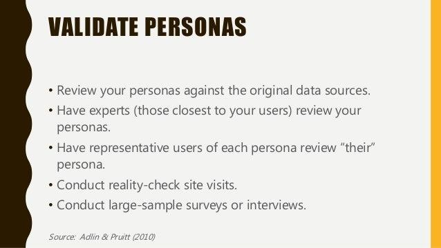 "Source: Ward, Jennifer. ""Persona Development and Use"" http://libraryassessment.org/bm~doc/ward_jennifer.pdf."