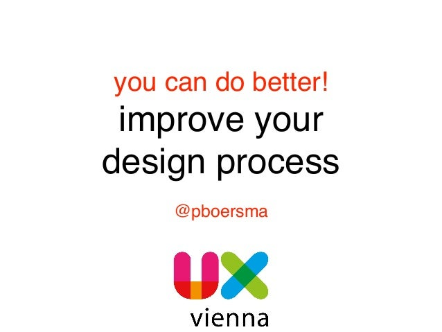 you can do better!