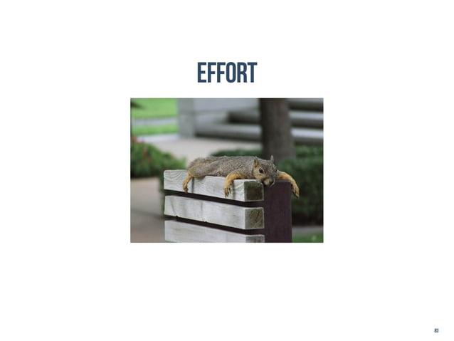 effort         83