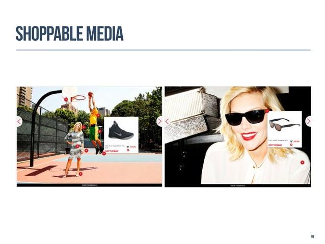 SHOPPABLE MEDIA                  99