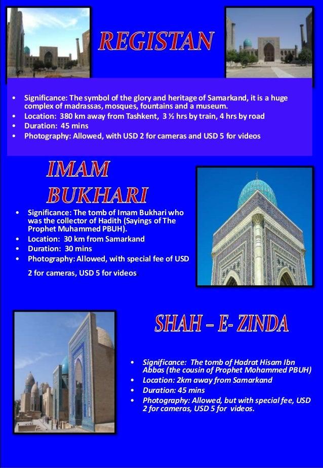 Uzbekistan tour hand book - IJ Dream Vacation Pvt Ltd