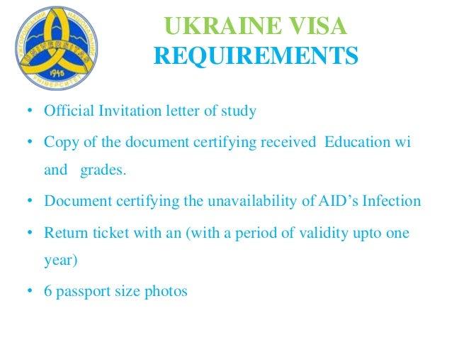 Uzhhorod national university ppt ukraine visa requirements official invitation letter stopboris Gallery