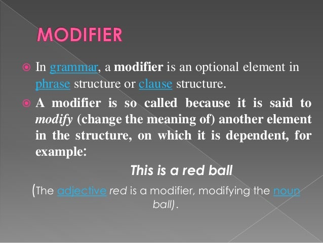 MODIFIERS IN ENGLISH GRAMMAR DOWNLOAD