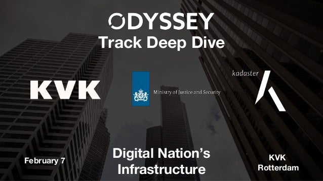 Track Deep Dive Digital Nation's Infrastructure February 7 KVK Rotterdam