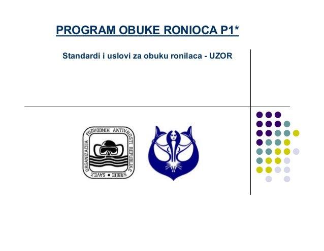 Uzor program P1 teme  Slide 2