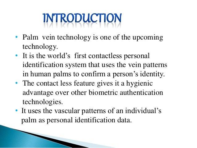 M2-PalmVein™ – Secure palm vein scanner