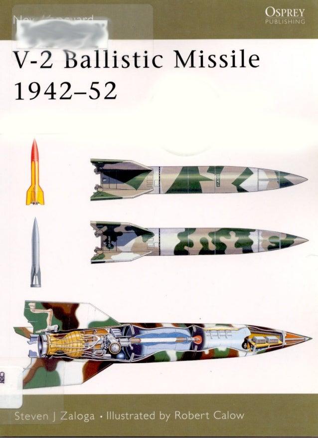 V 2 ballistic missile-1942