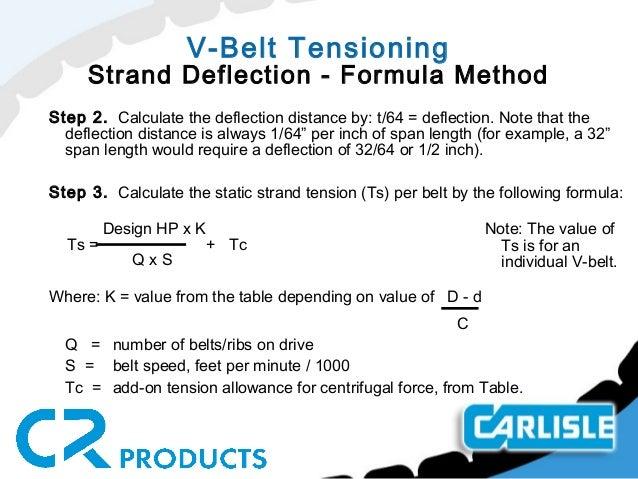 Top 10 Punto Medio Noticias | Belt Tension Force Formula