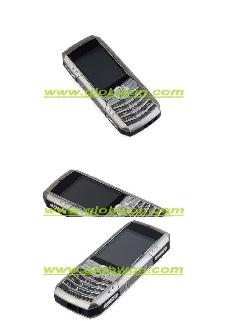 Langue: Anglais, la France, l'arabe  LCD Taille: 2,0 pouces, 26 millions de couleurs  PX: 240 × 320px  Ringtone format: MP...
