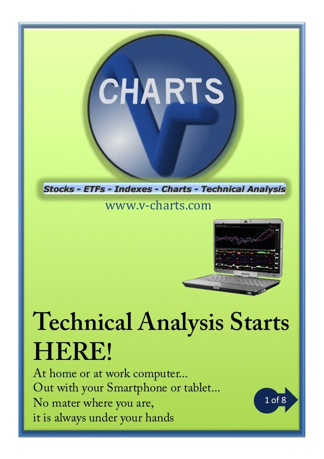www.v-­‐charts.com  Technical Analysis Starts HERE! At home or at work computer... Out with your Smartphone or tablet... N...