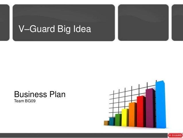 big idea business plan