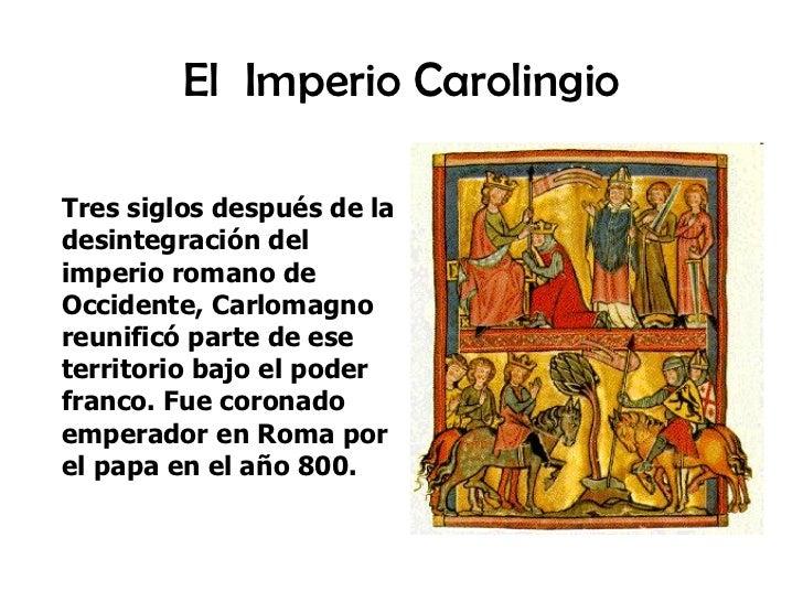 El Imperio Carolingio Slide 2