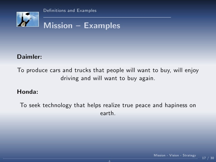 strategy mission and vision of whirlpool The leading strategically module will lay the foundation of business strategy course you will learn about mission, vision and values and their role in overall strategy landscape.