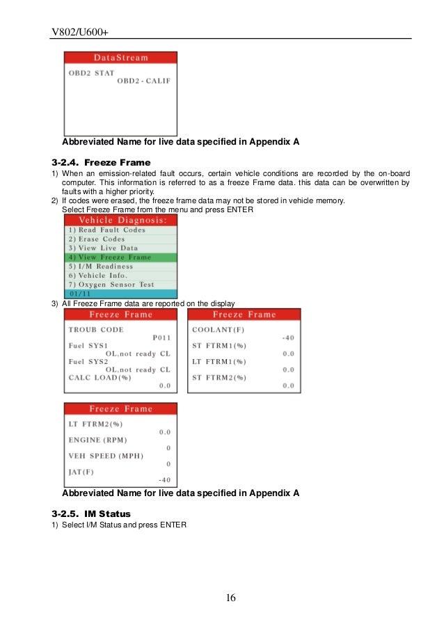 How to use V-Scan VAG+CAN OBDII V802 Professional Car Diagnostic Tool
