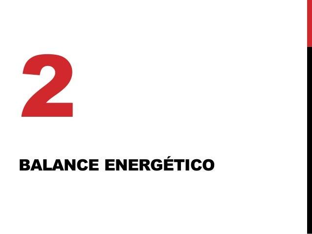 BALANCE ENERGÉTICO 2
