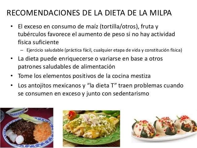 NUEVOS ESQUEMAS W3 .gob.mx.la dieta de la milpa • México tiene amplios recursos naturales, diversidad cultural y conocimie...