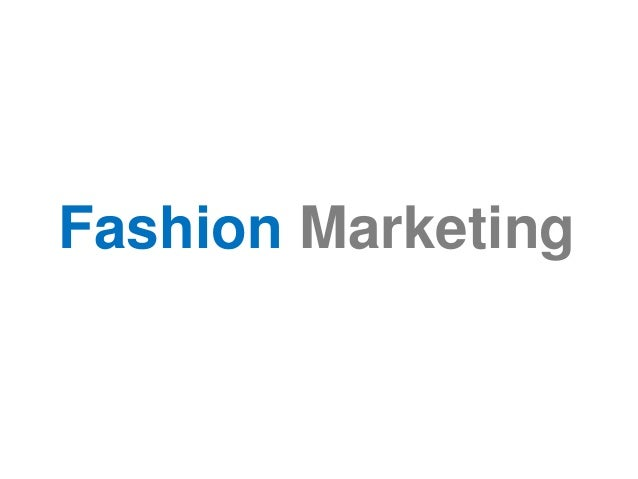 fashion marketing branding