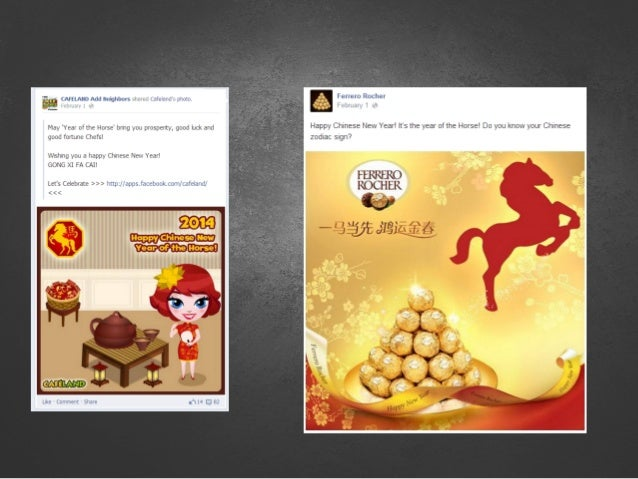 the brand's post must be valuable & useful during cHINESE NEW YEAR...
