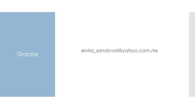 Gracias elvira_sandoval@yahoo.com.mx